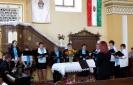 Zenés istentisztelet Ladmócon